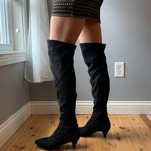 NWOT!!  Impo Suede Thigh High Boots SZ. 7.5